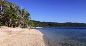 Beach just north of Manga'asi Village.