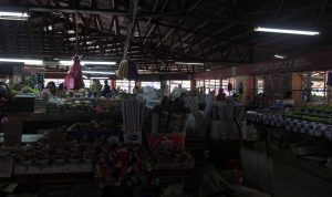 The market in Ba (a town we stopped at to buy food for our lunch during a tour of Navala).