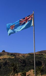 The flag of Fiji.