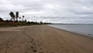Another view of Wailoaloa Beach (looking south, toward the crematorium).